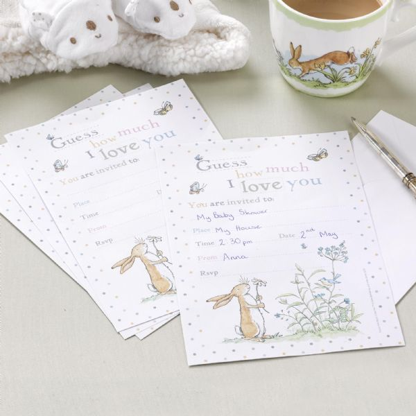 Guess How Much I Love You Invitations (10)